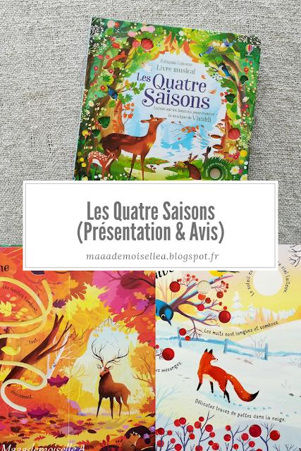 Les Quatre Saisons (Présentation & Avis)(Chut, les enfants lisent # 97)