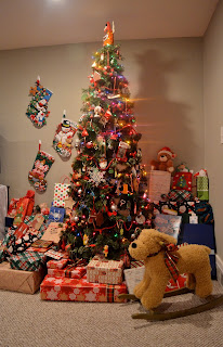 too full christmas tree