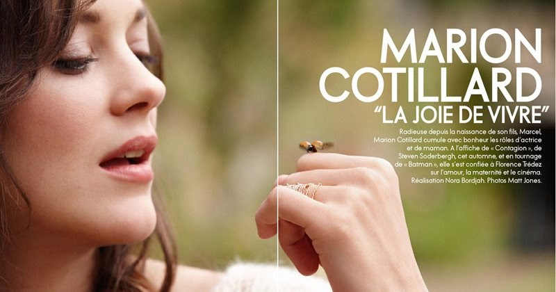 Pretty Things Pretty Pictures Marion Cotillard In Elle France
