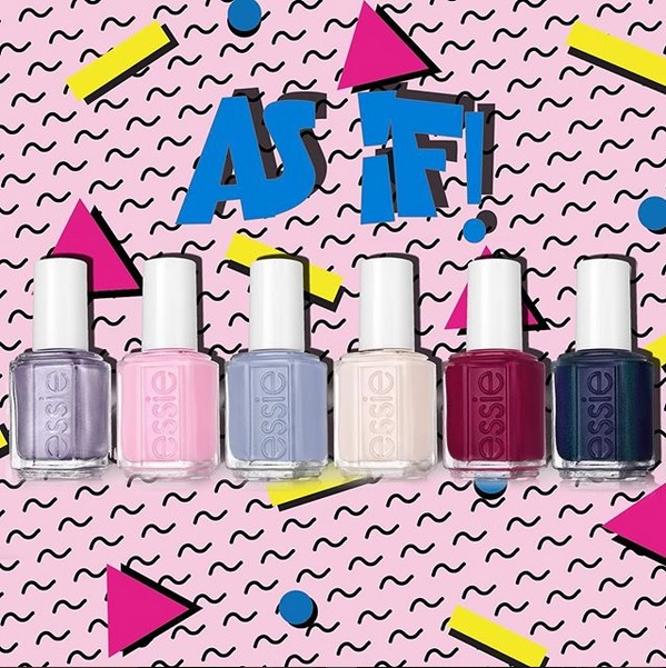 """Essie Fall 2017 """"As if!"""" Collection"""