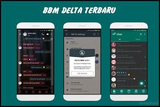 Download BBM Delta Mod Apk v4.4.1 Clone + Unclone Terbaru 2019