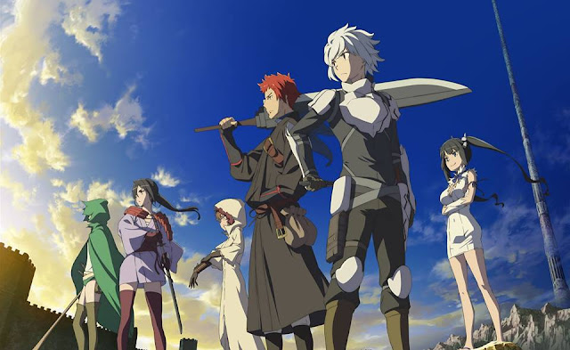 DanMachi Season 2 New Key Visual