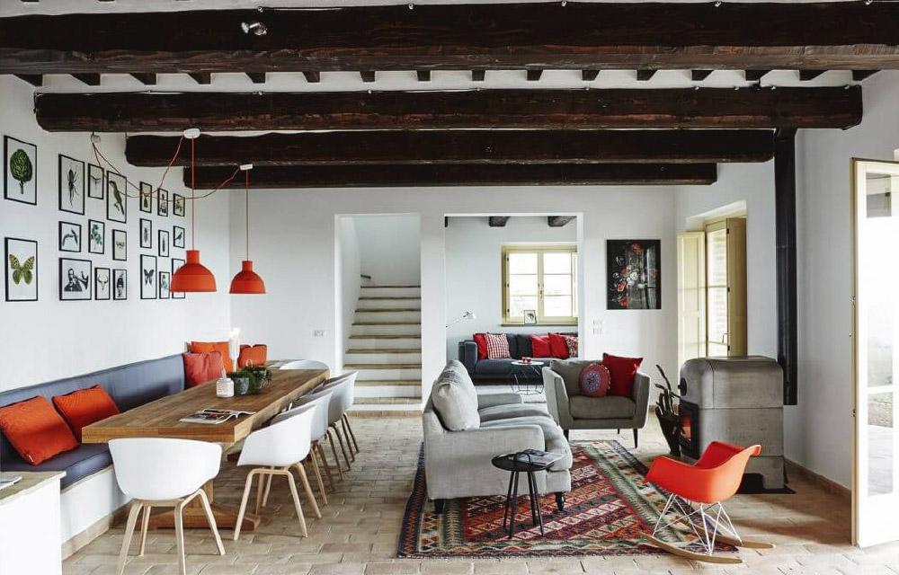 Casa refogliano perfetto mix di stile country e moderno for Casa stile moderno
