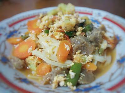 Resep Mie Kuning Basah Kuah Sayuran