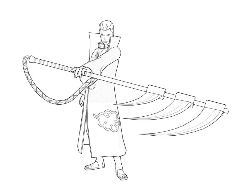 Naruto Hidan Character | Surfing