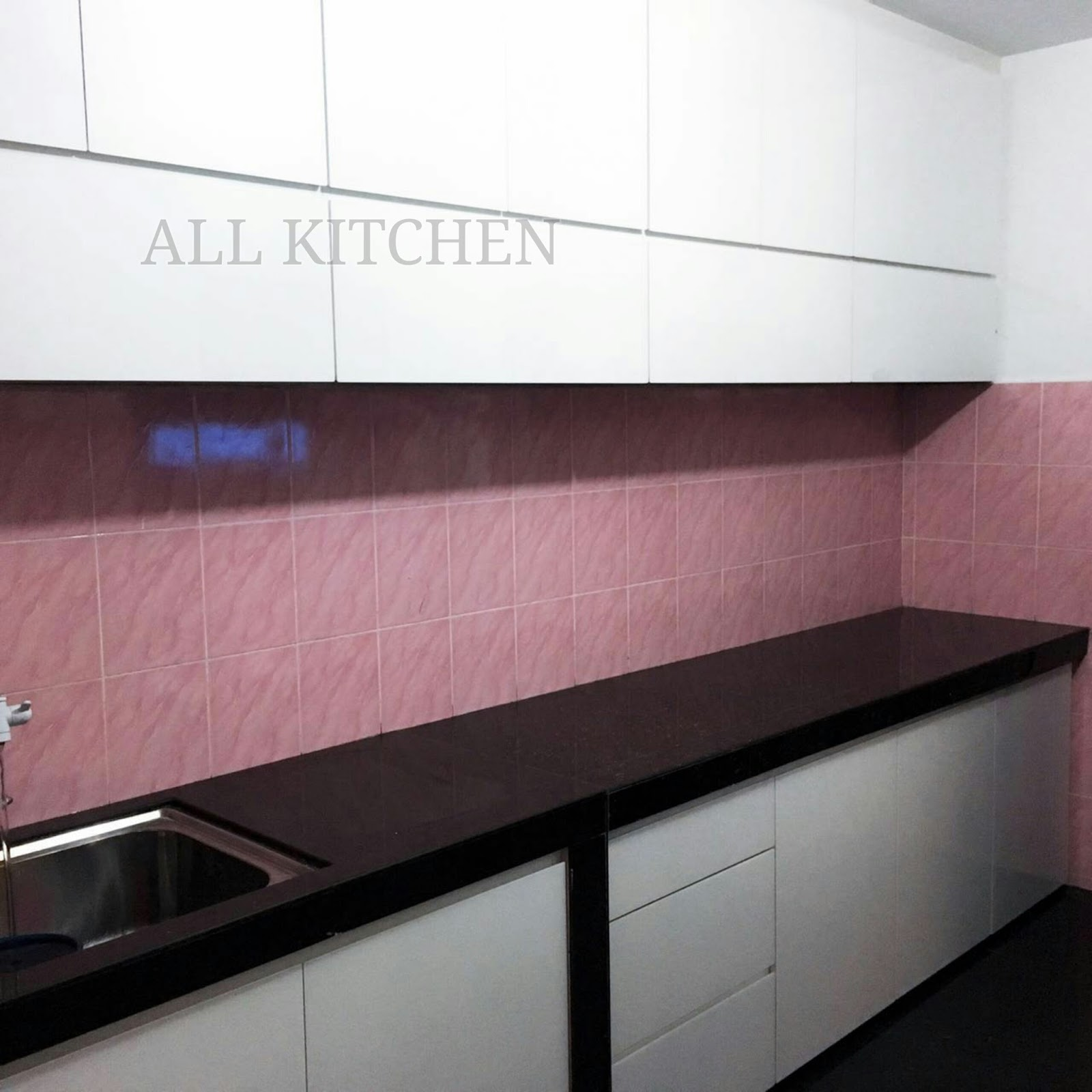 Kitchen cabinet bangi sek4 for Harga kitchen cabinet 2016