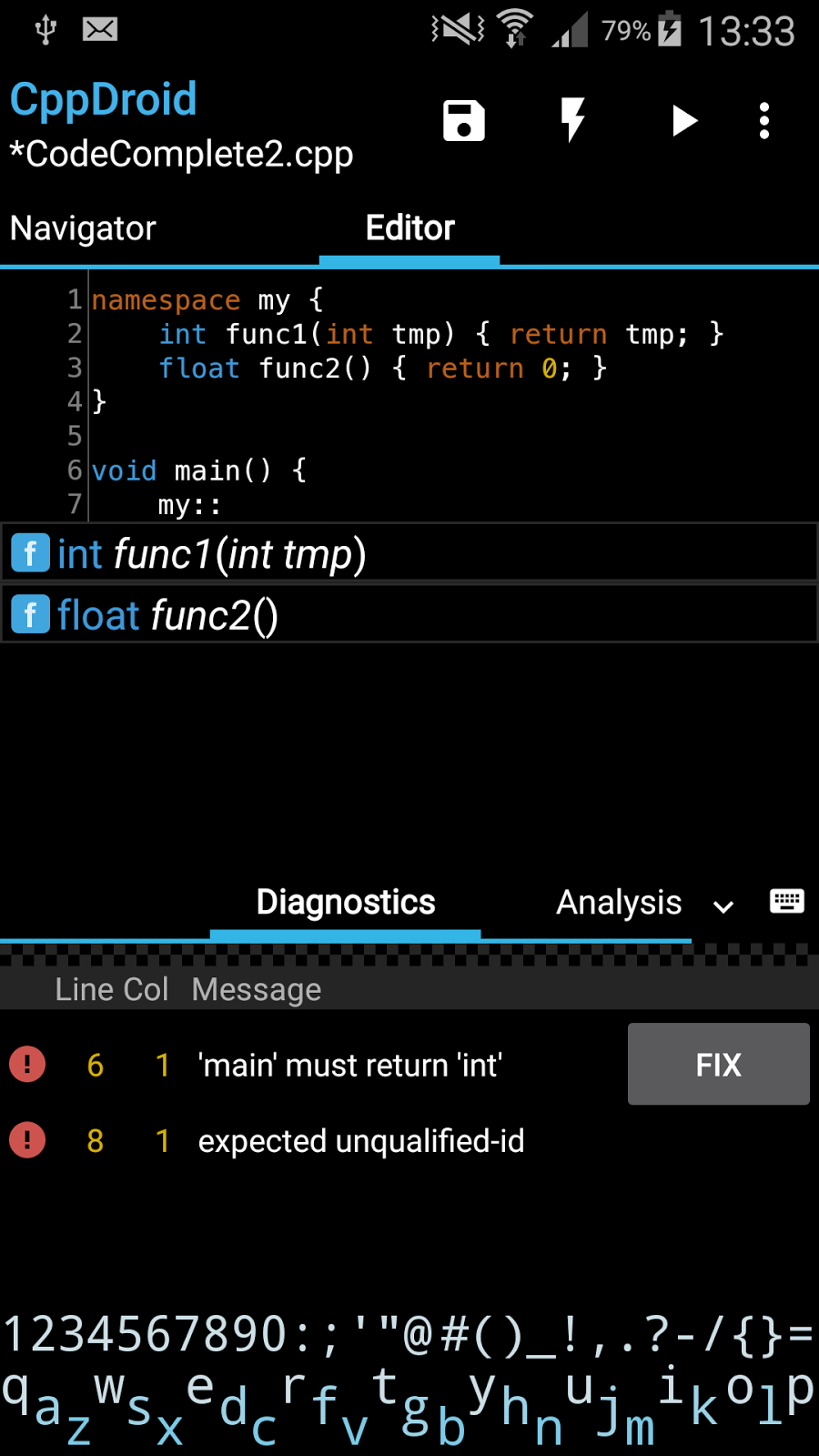 Introduction   CppDroid - C/C++ IDE for Android