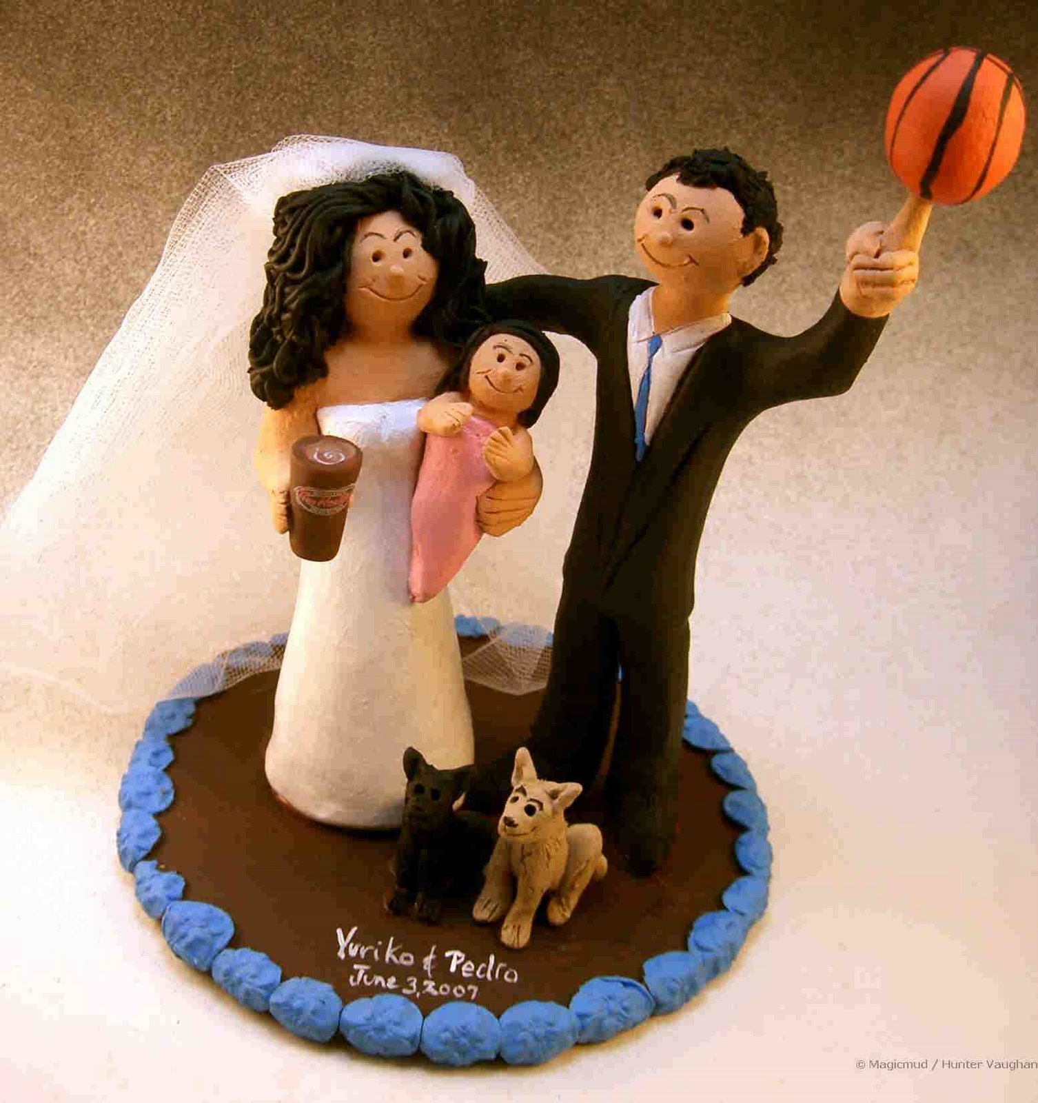 basketball wedding cake toppers custom wedding cake toppers basketball wedding 11106