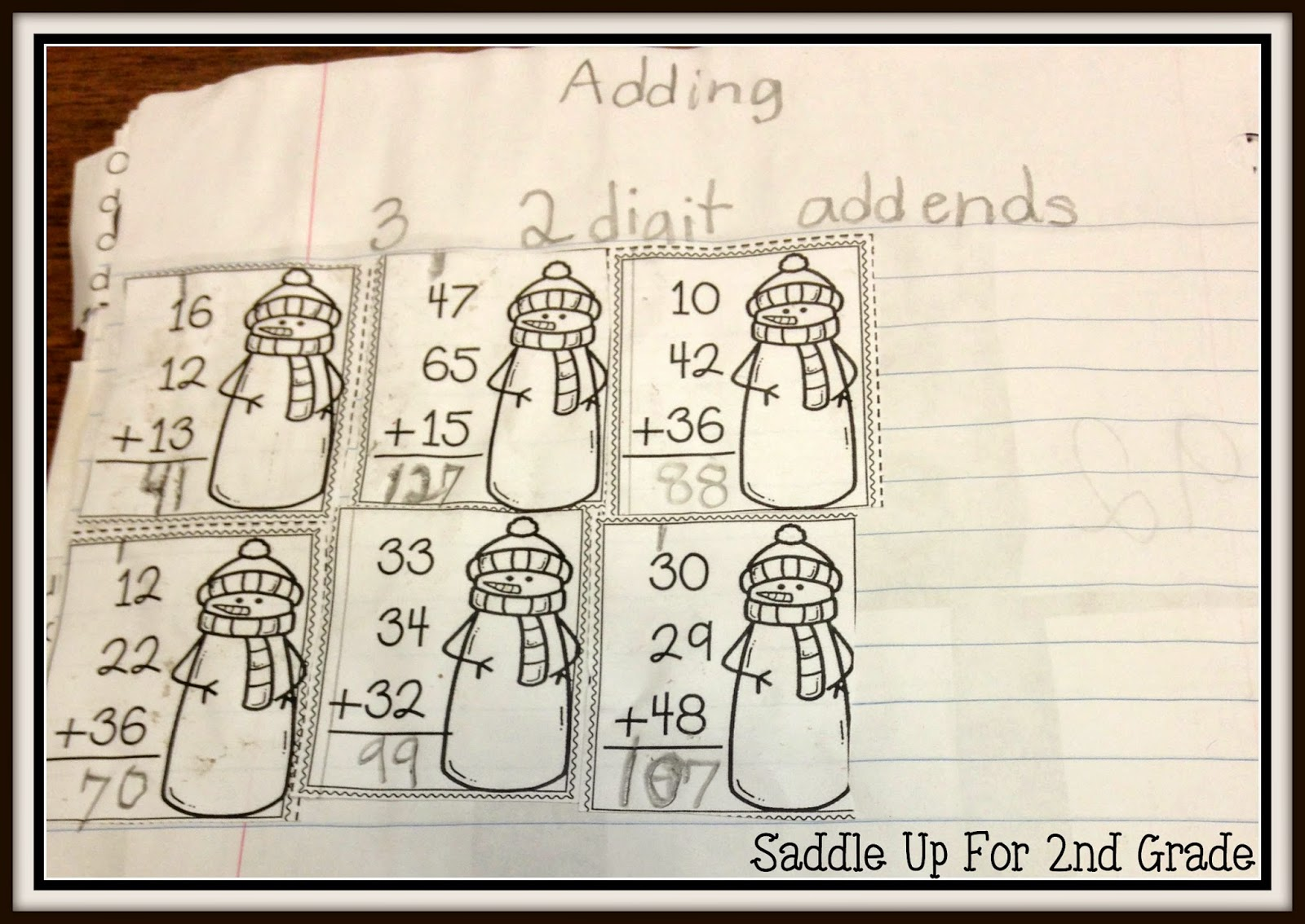 Turn Any Task Card into a Journal Activity by Saddle Up For 2nd Grade
