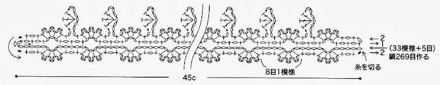 схема колье ромашка