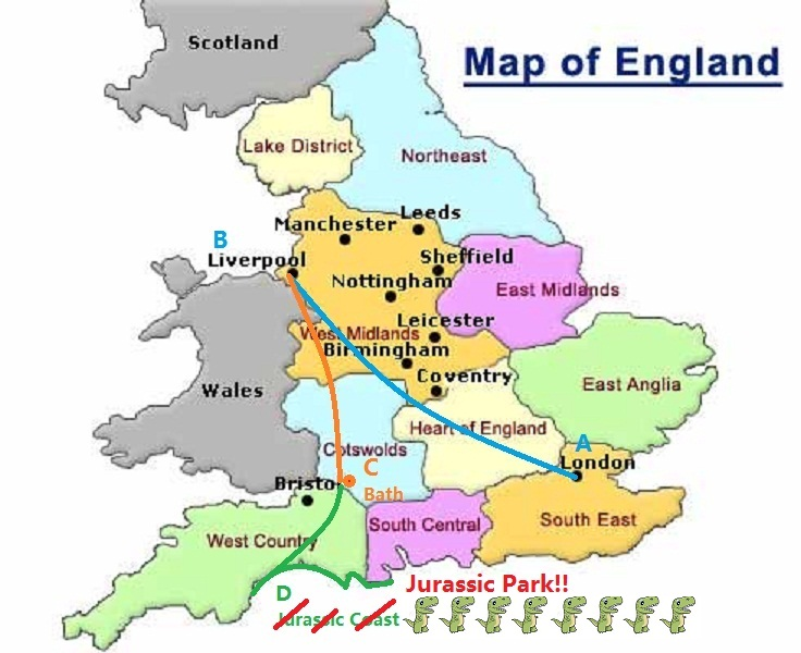 Map Of England Joke.Joke Of The Day 6 Jurassic Park