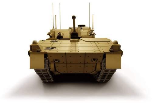 Menggantikan tank ringan Scimitar CVR