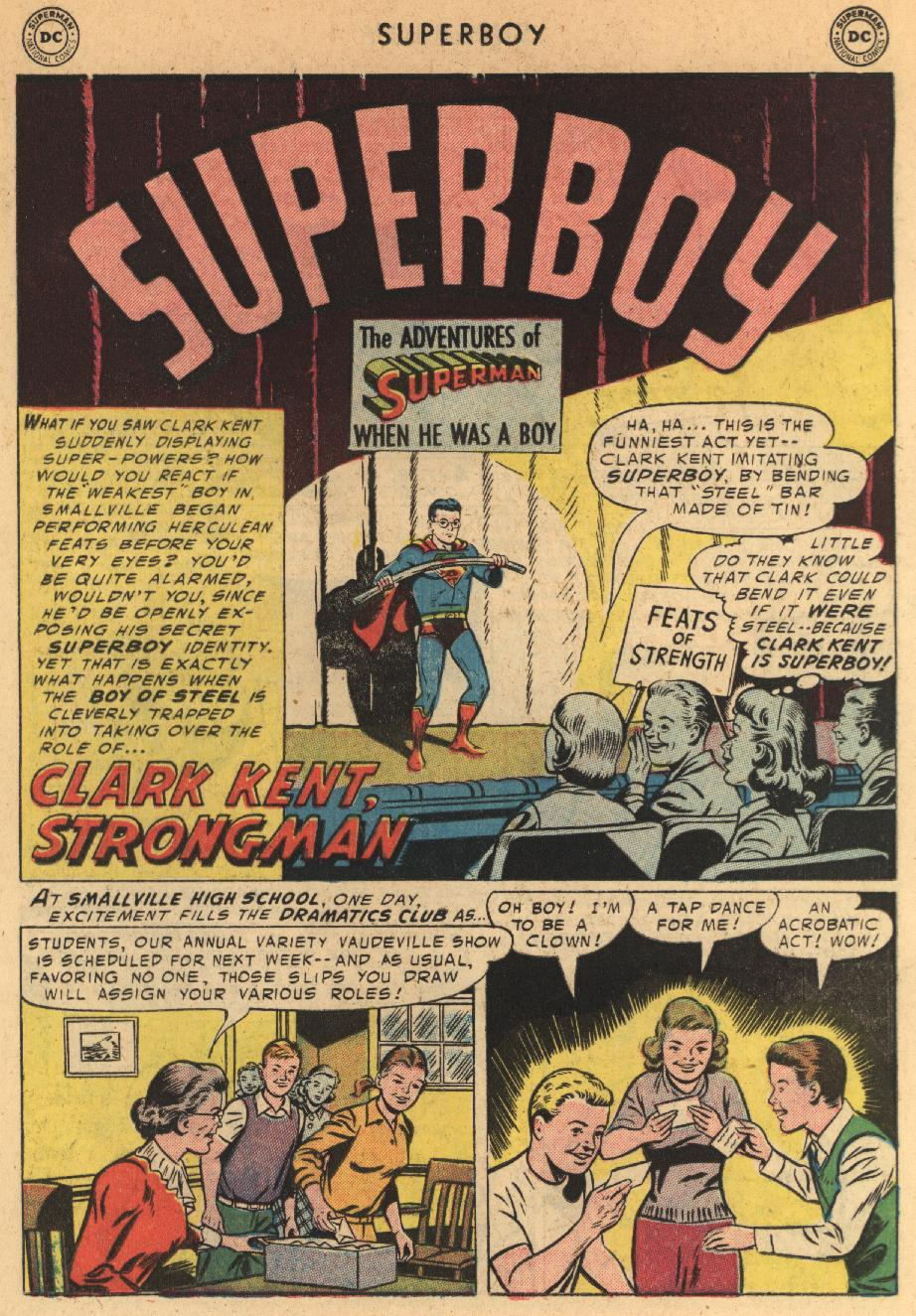 Superboy (1949) issue 44 - Page 22