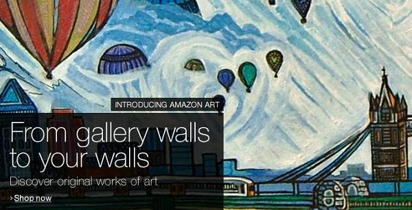 Schreenshot di Amazon Art