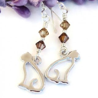 cat kitty jewelry gift idea for women