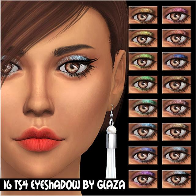 16 ts4 eyeshadow by glaza