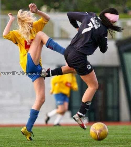 funny crazy sport moment - perfect timed photography