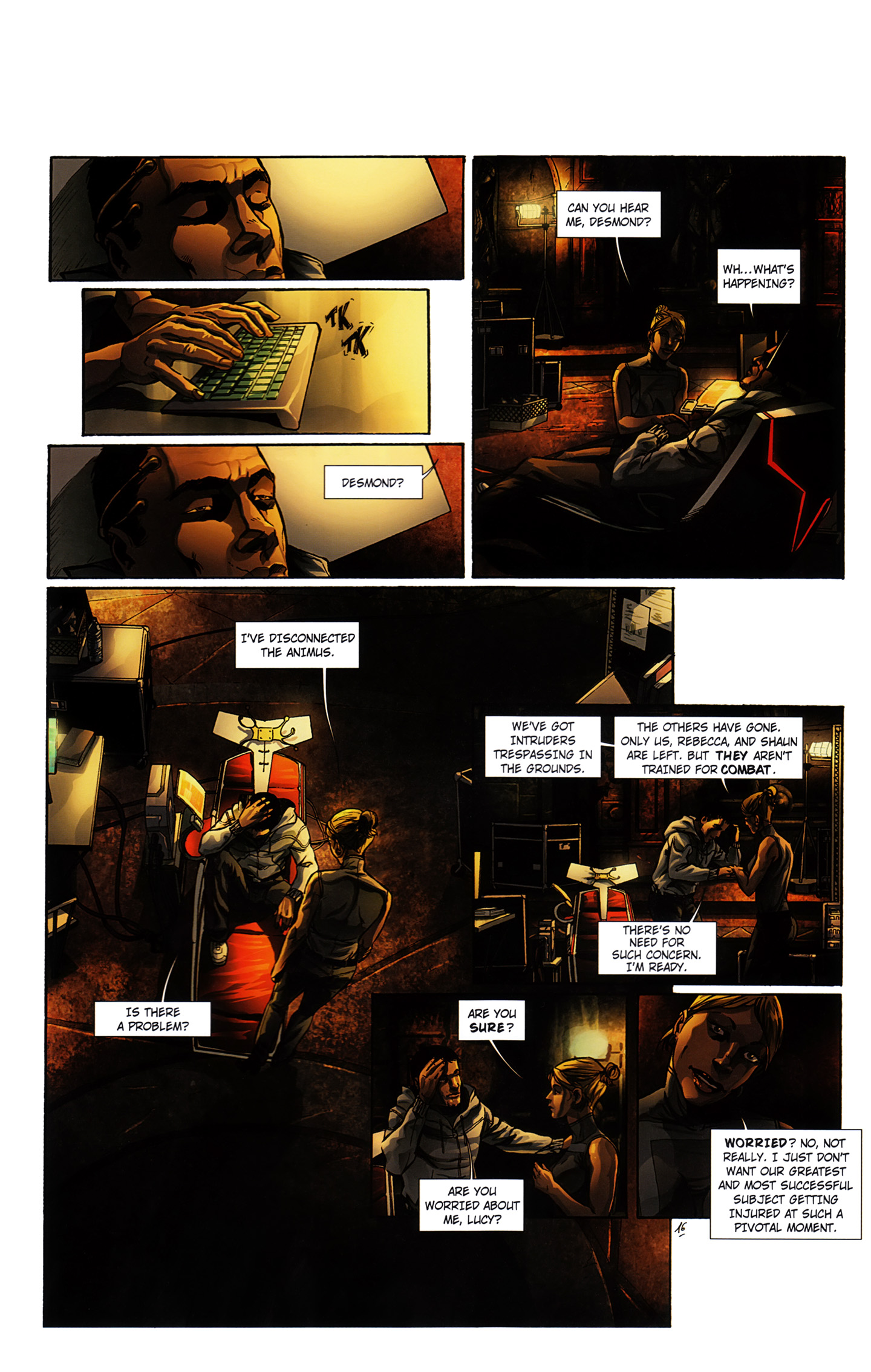 Read online Assassin's Creed (2012) comic -  Issue #3 - 22