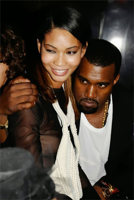 Chanel iman dating kanye west