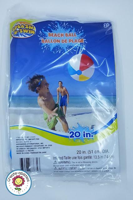 Beach Ball Size