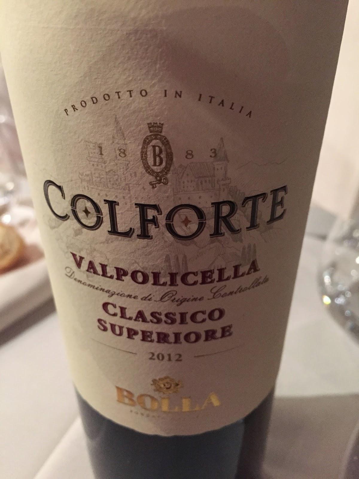 2012 Bolla Colforte Valpolicella Classico Superiore
