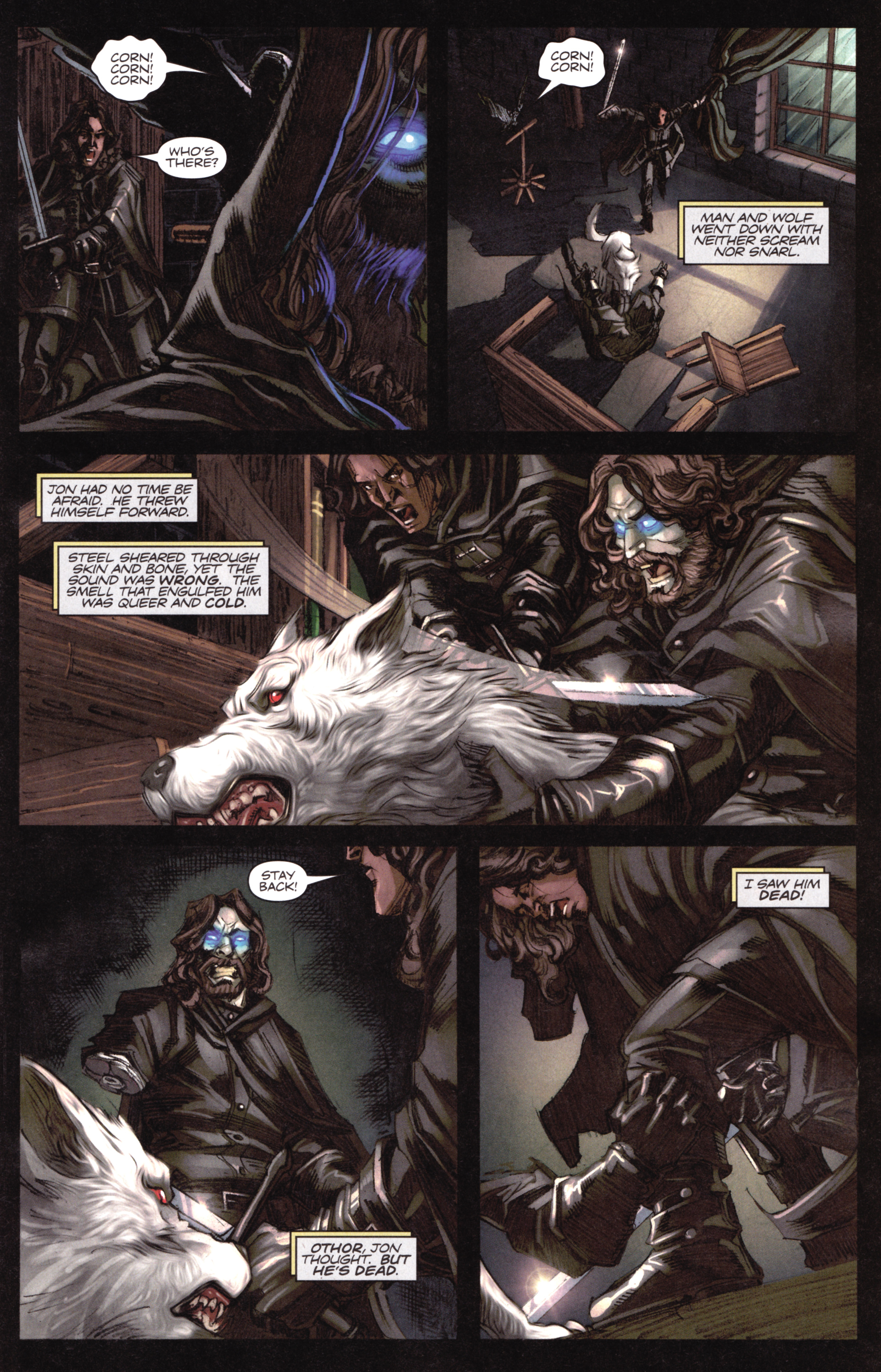 Read online A Game Of Thrones comic -  Issue #17 - 13