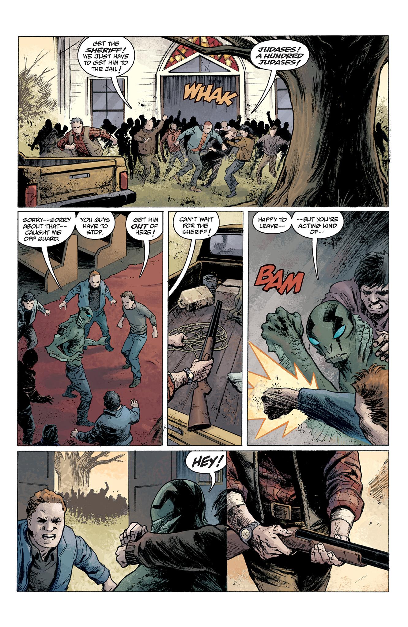 Read online Abe Sapien comic -  Issue #2 - 23