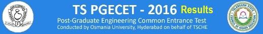 TS PGECET Results 2017 Telangana PGECET Merit list, Rank card tspgecet.org