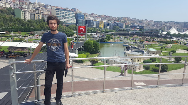 Harun İstenci İstanbul'da Miniatürk'te