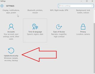 Entering safe mode in Windows 10