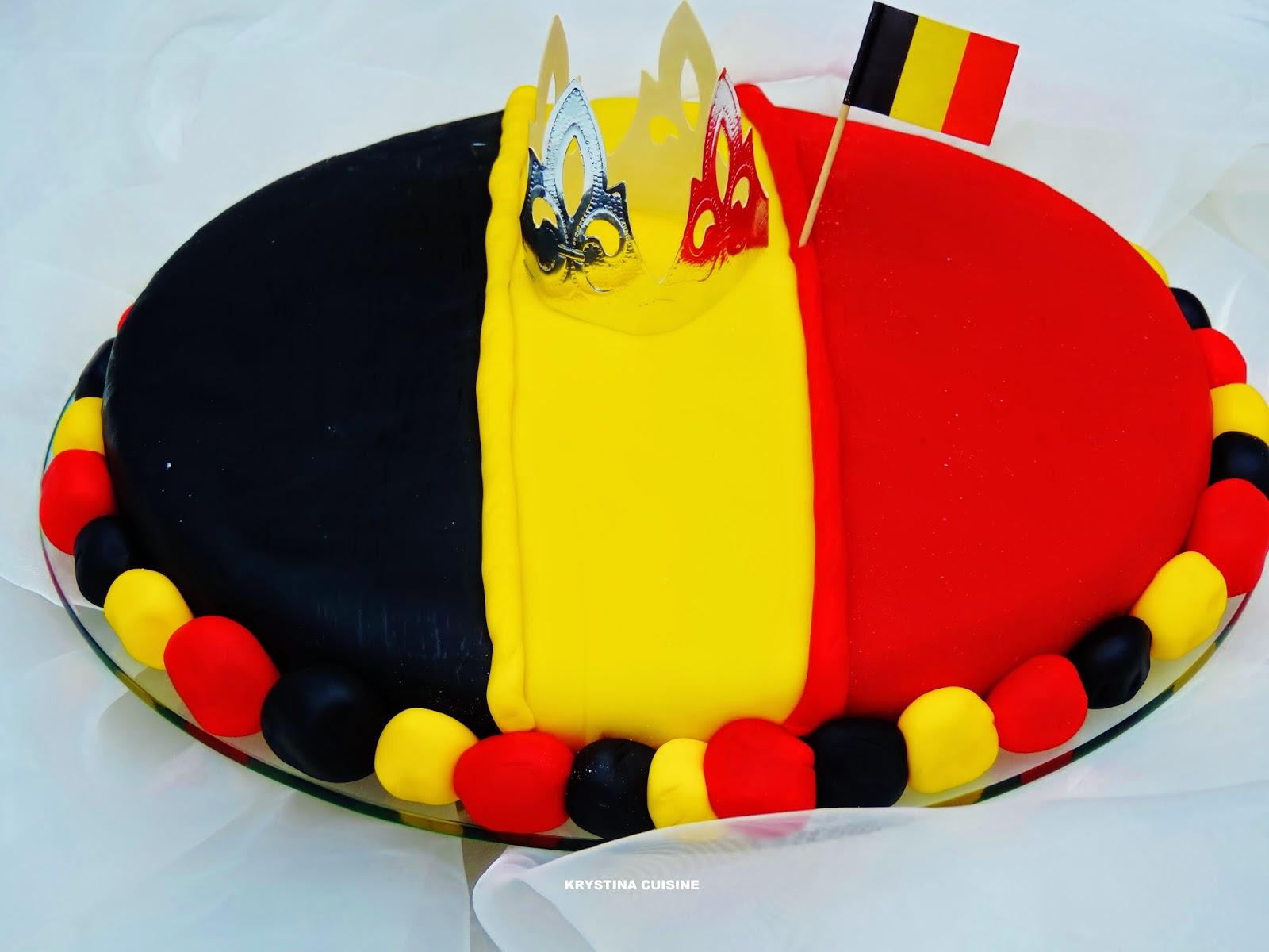 Krystina cuisine Gteau pour la Belgique