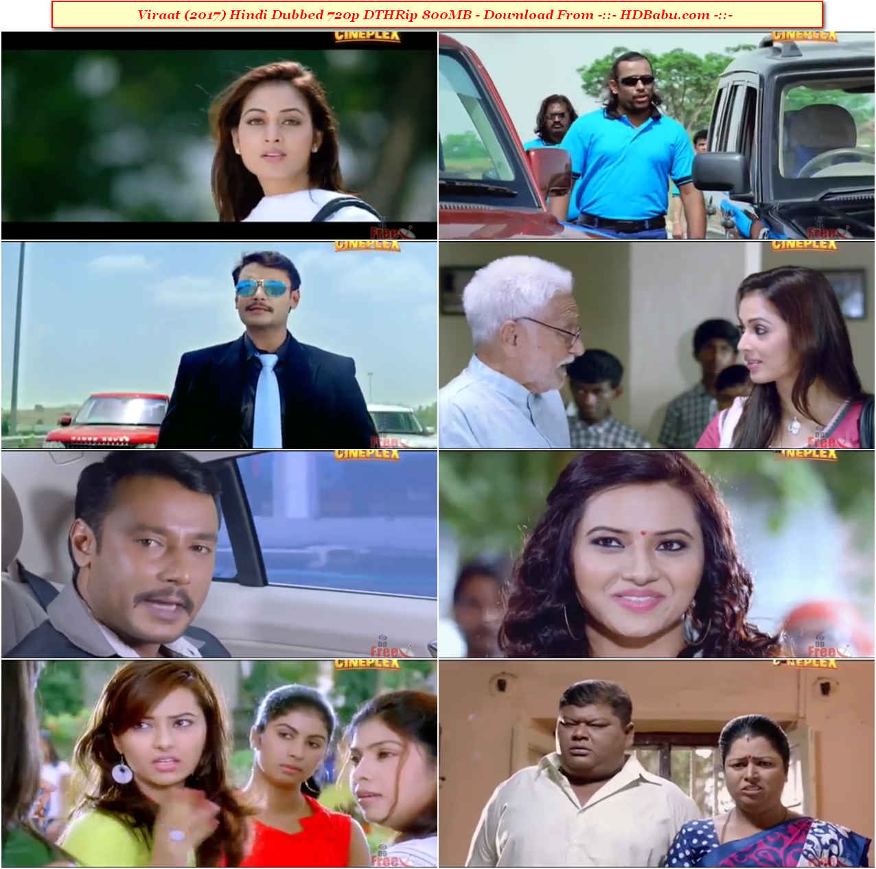 Viraat Hindi Dubbed Full Movie Download