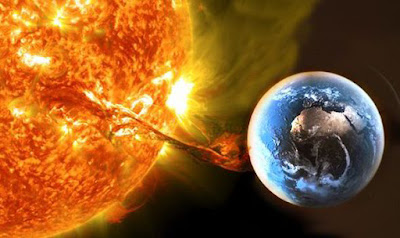 COULD NIBIRU/ PLANET X or CERN be causes major issues with the sun? A massive solar flare will hit Earth, bringing with it the threat of power and GPS ...