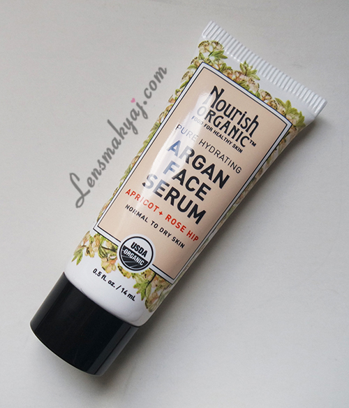 Nourish Organic Argan Face Serum