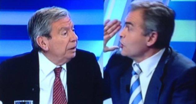 Tremenda bronca entre exministro Corcuera y el periodista Carmelo Encinas