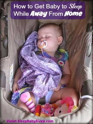 how to get baby to sleep while out vacationing outings, baby sleep while traveling