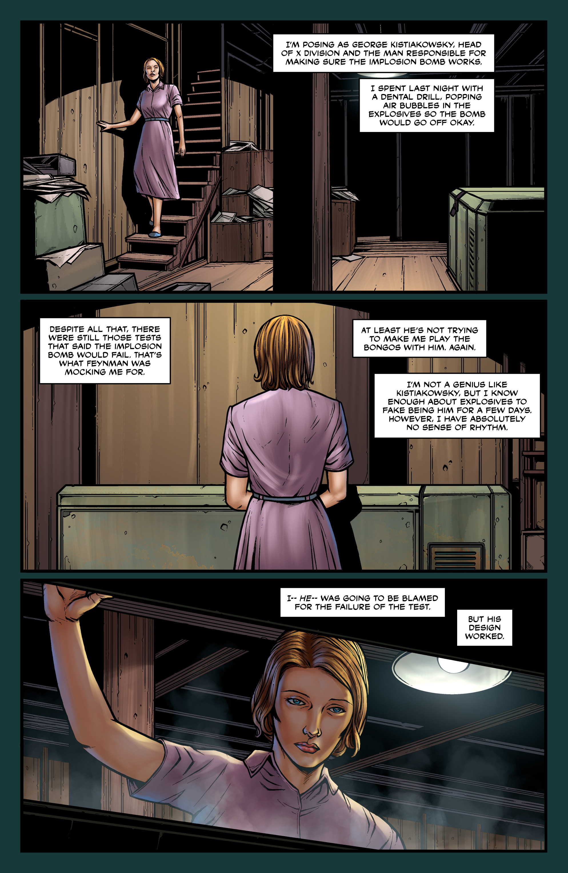 Read online Uber comic -  Issue #18 - 11
