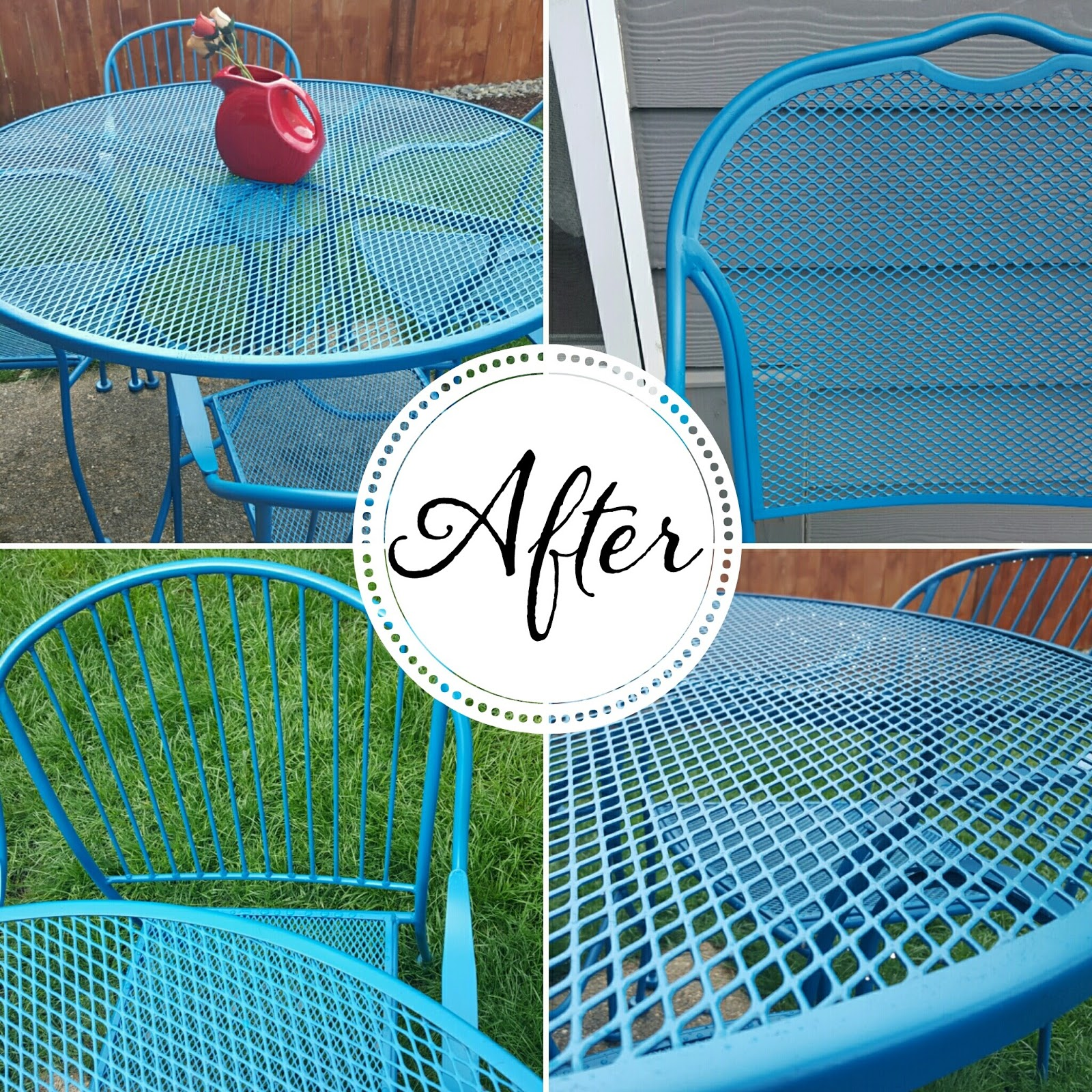Delightful How To Refinish Wrought Iron Patio Furniture