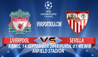 Prediksi Liverpool vs Sevilla 14 September 2017