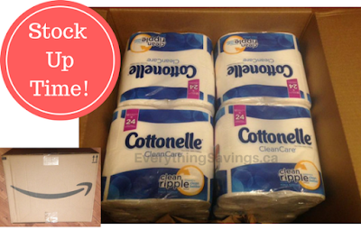 Stock Up Price on Cottonelle Bathroom Tissue