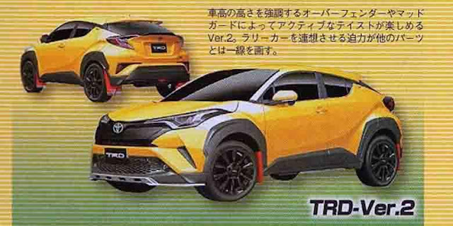Toyota C-HR versi TRD