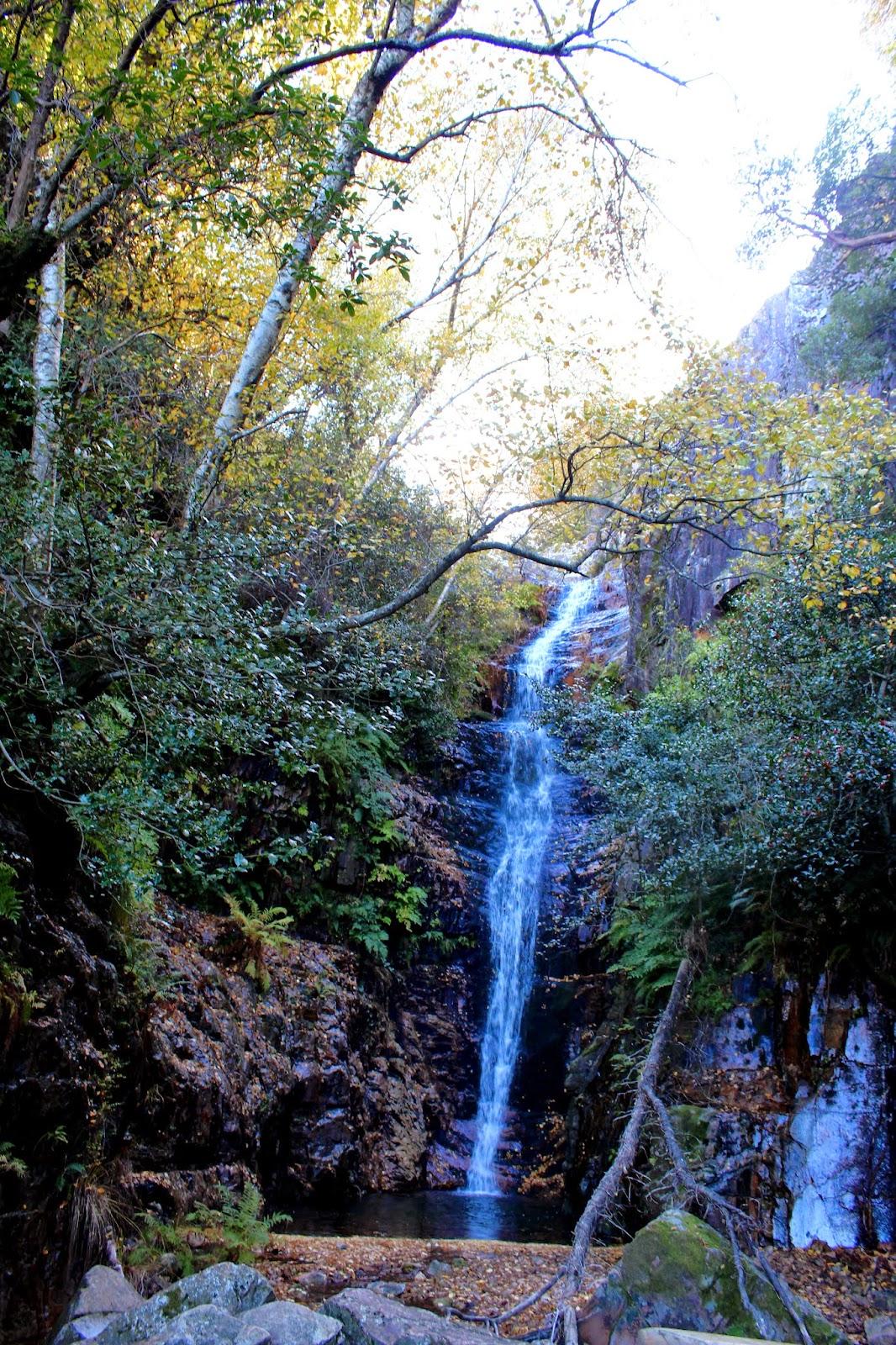 Cascada del Chorro en el Parque Nacional de Cabañeros