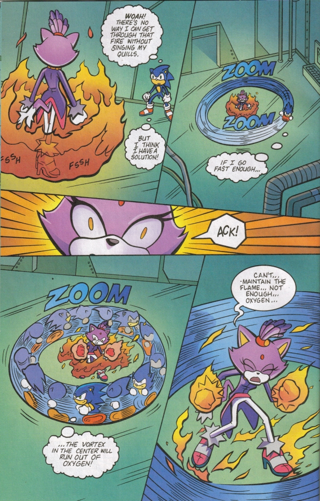 Read online Sonic The Hedgehog comic -  Issue #161 - 26