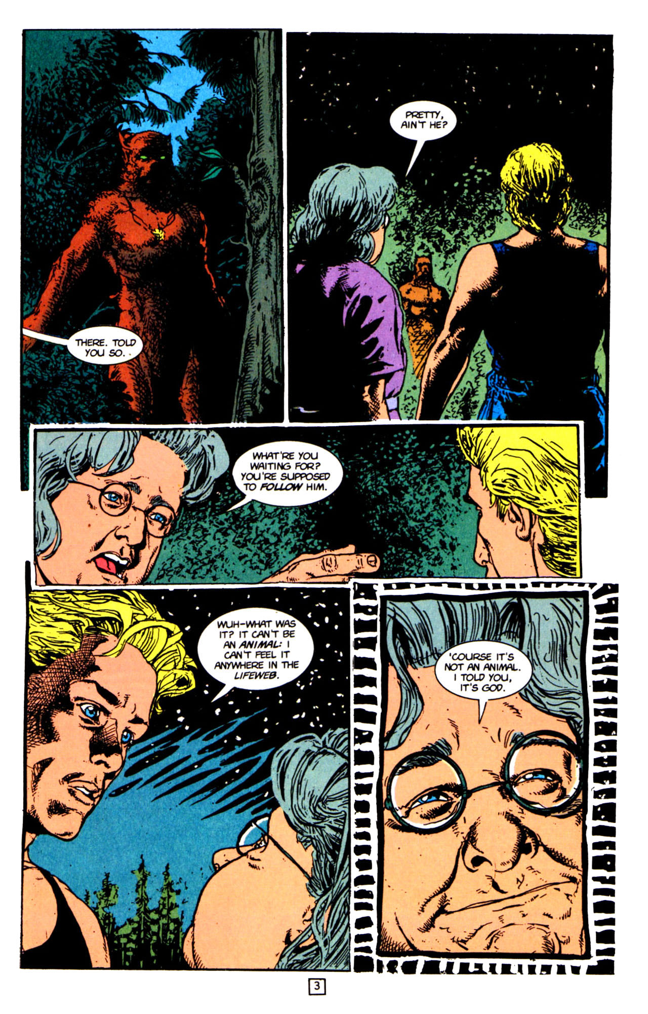 Read online Animal Man (1988) comic -  Issue #66 - 5