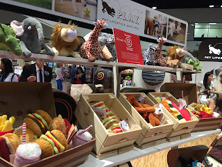 Toys include sushi, pretzels, tacos, burgers and more.