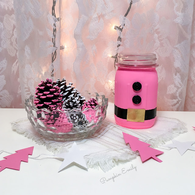 3 DIY Pink Holiday Room Decor Ideas