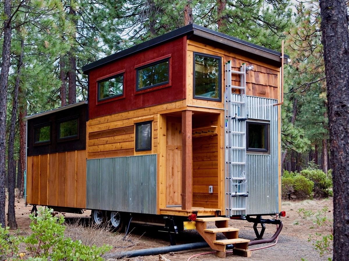 Tiny House Town Wood Iron Tiny Home