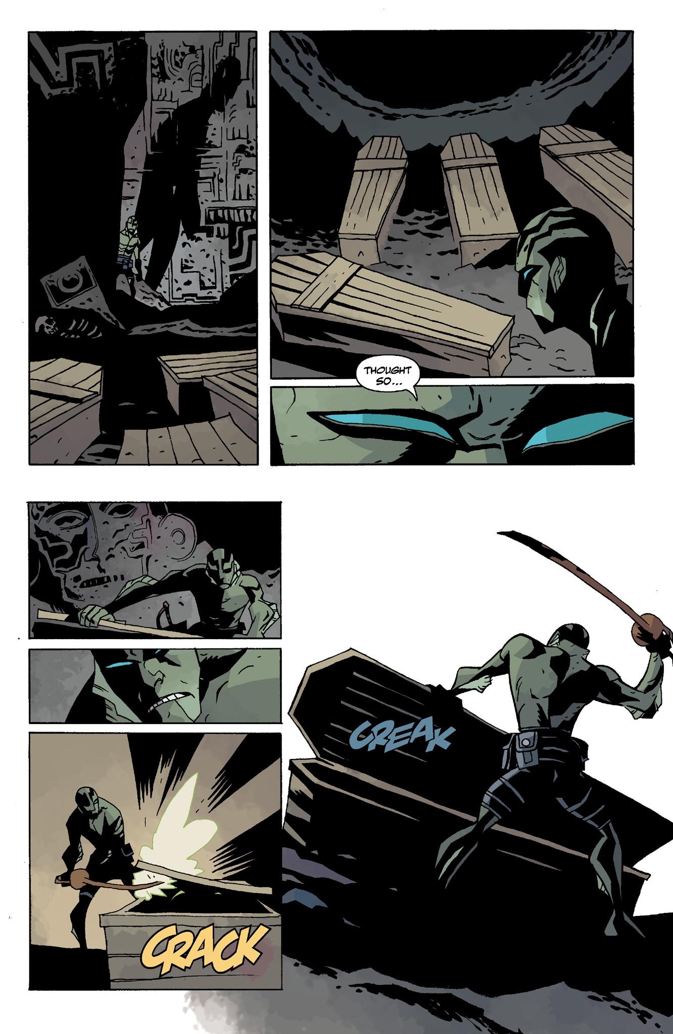 Read online Abe Sapien comic -  Issue #8 - 14