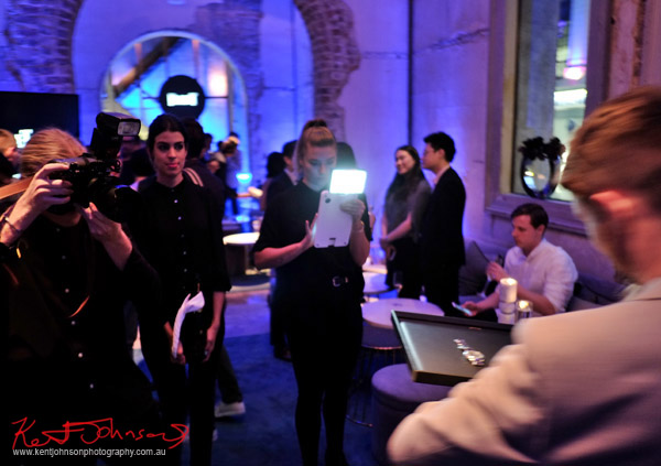 Photo ops, Piaget Polo S Watch Launch - Beta Bar - Photographed by Kent Johnson for Street Fashion Sydney.