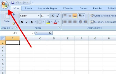 Excel - Acesso ao Menu Principal
